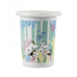 Moomin Enamel Tumbler Moomins in the Jungle 0.5 L Muurla