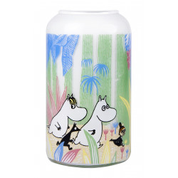Moomin Glass Vase Moomin in the Jungle 12 cm Muurla