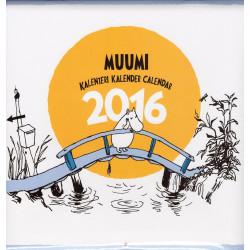 Moomin Wall Calendar 2016 Putinki
