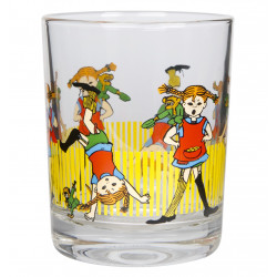 Pippi Longstocking Drinking Glass 0.2 L Muuurla