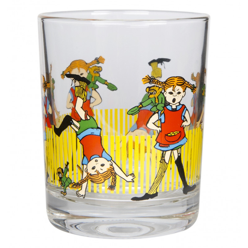 Pippi Longstocking Drinking Glass 0.2 L Muuurla