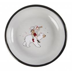 Enamel Plate 18 cm Belle and Boo Parade Muurla