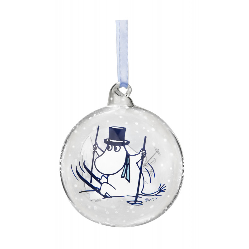 Moomin Decoration Ball Moominmamma and Pappa 9 cm