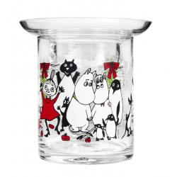 Moomin Winter Magic Tealight Holder Two-Piece 10 cm
