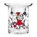 Moomin Winter Magic Tealight Holder Two-Piece 10 cm