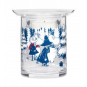 Moomin Winter Forest Tealight Holder Two-Piece 10 cm