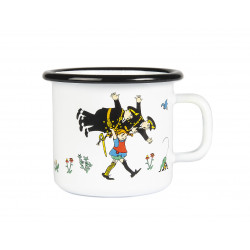 Pippi Enamel Mug Pippi And The Policemen 0.25 L