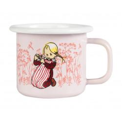 Ida Enamel Mug Pink 0.15 L