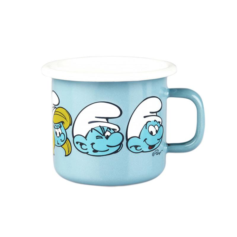 Smurf Enamel Mug 0.25 L