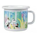 Moomins in the Jungle Enamel Mug 0.25 L