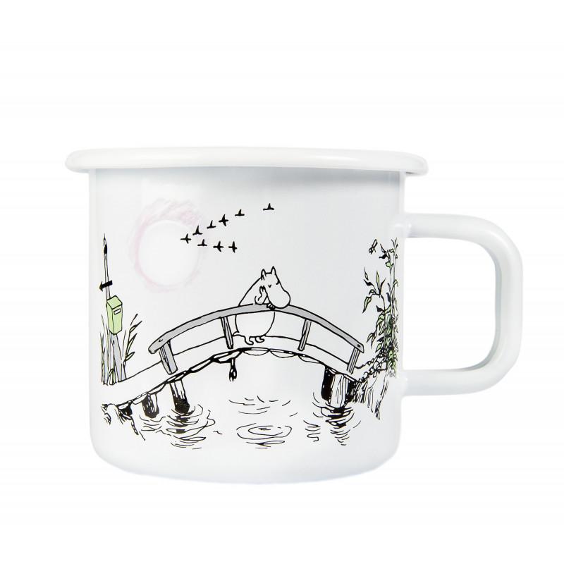 Moomin Enamel Mug 0.37 L Originals Missing You