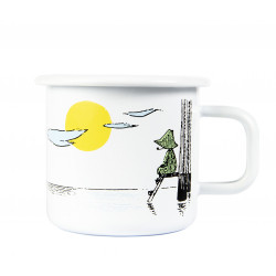 Moomin Enamel Mug 0.37 L Originals Day Dreaming