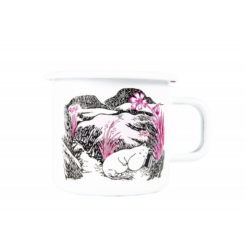 Moomin Enamel Mug 0.37 L Originals Nap in the Meadow