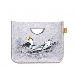 Moomin Storage Basket S Originals Gone Fishing