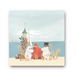 Moomin Napkins Oursea Boat...