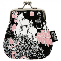 Moomin Coin Purse Sanna Metal Clasp Party Moments