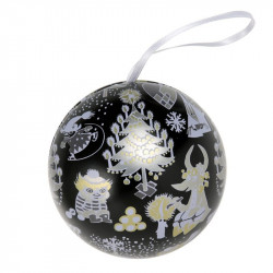 Moomin Too-Ticky's Christmas Decoration Tin Ball