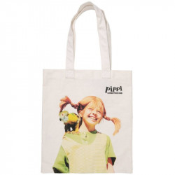 Pippi Longstokings Canvas Eco Sturdy Shopping Bag