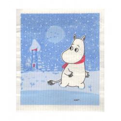 Moomin Dishcloth Moomin Snow Optodesign 17 x 20 cm