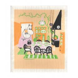 Moomin Dishcloth Kitchen 17 x 20 cm