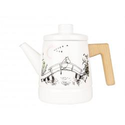 Moomin Enamel Coffee Pot 1.6 L Originals Missing You
