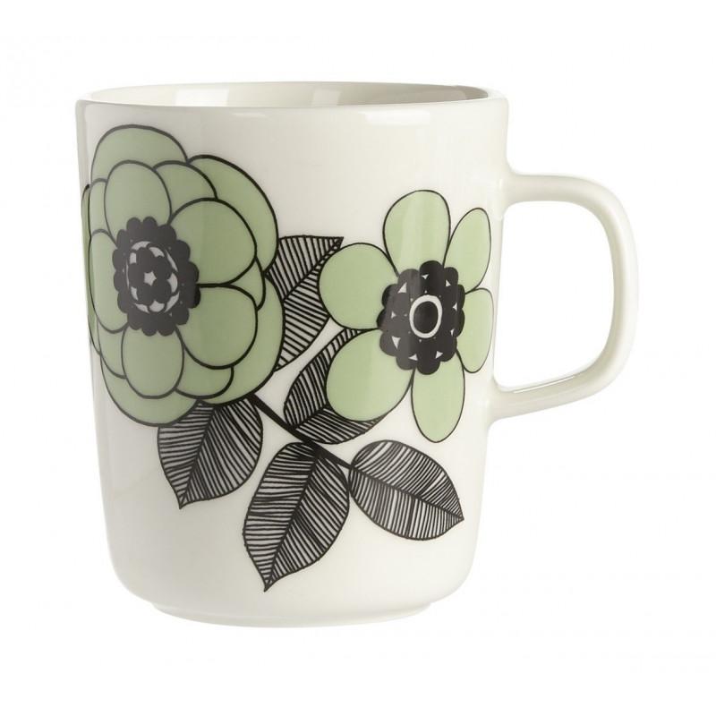 Marimekko Oiva Kestit Mug Green 0.25 L