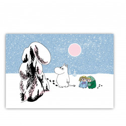 Moomin Placemat Snow Crown Load 40 x 30 cm