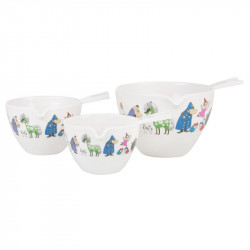 Moomin Characters Melamine Measuring Cups Set of 3