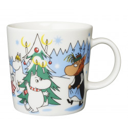 Moomin Seasonal Mug Under the Christmas Tree Winter 2013