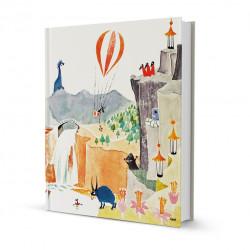 Moomin Hardcover Notebook 16 x 20 cm Moominpappa Memoirs