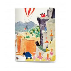 Moomin Small Notebook 9 x 12 cm Moominpappa Memoirs