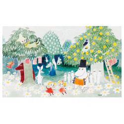 Moomin Greeting Card with Envelope Magicians Hat Moomnpappa