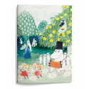 Moomin Softcover A5 Notebook 15 x 21 cm 48 pages Magicians Hat Moominpappa