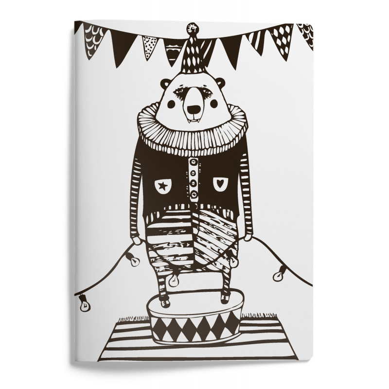 Mira Mallius A5 Notebook 15 x 21 cm 48 pages Circus Bear