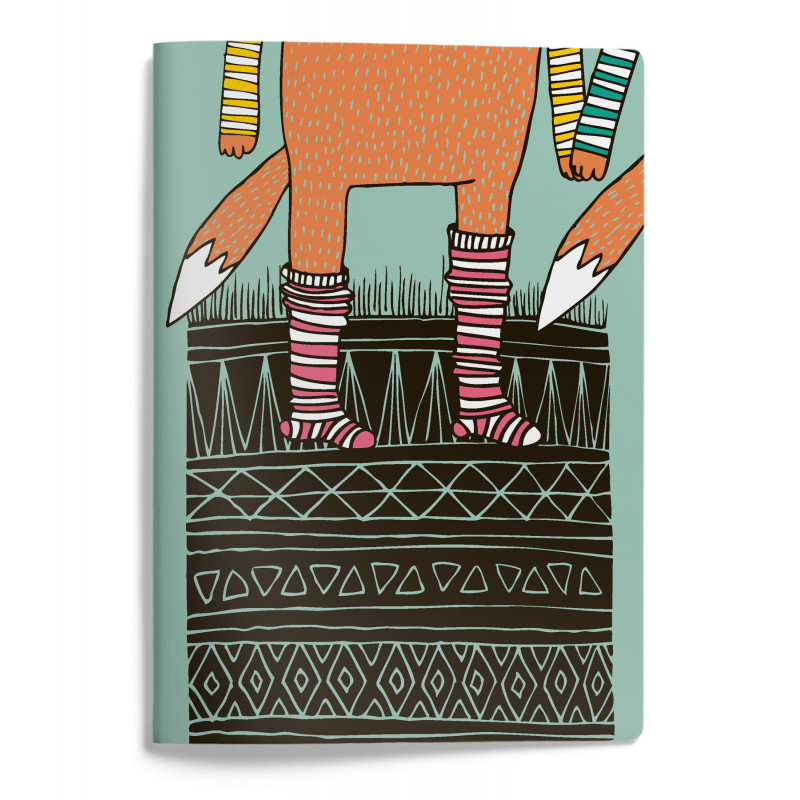 Mira Mallius A5 Notebook 15 x 21 cm 48 pages Socks