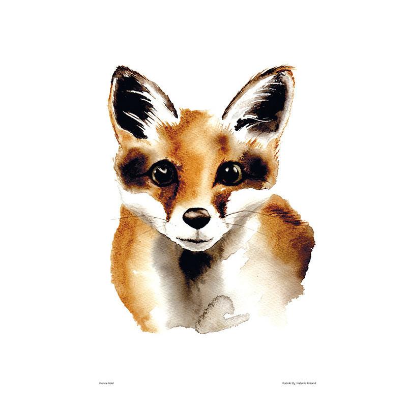 Henna Adel Poster 24 x 30 cm Fox