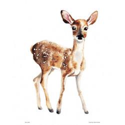 Henna Adel Poster 24 x 30 cm Deer