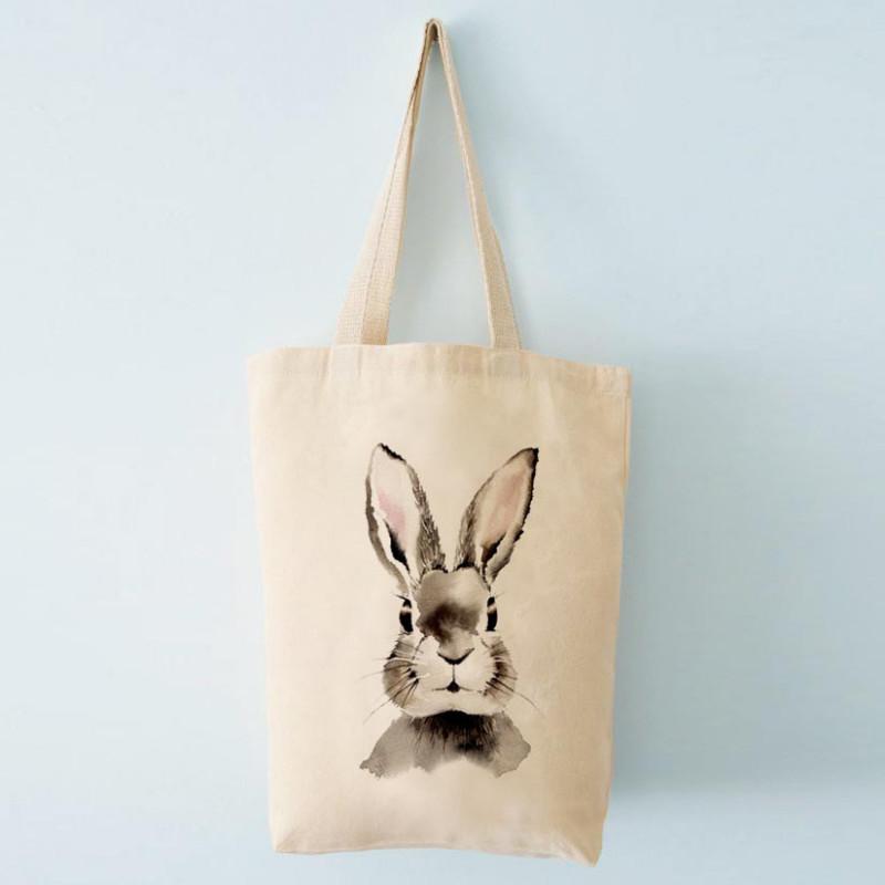 Henna Adel Canvas Bag 37 x 42 cm Straps 60 cm Hare