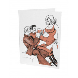 Tom of Finland Letterpress Greeting Card 24