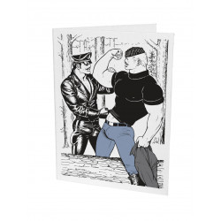 Tom of Finland Letterpress Greeting Card 21