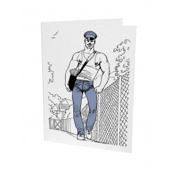 Tom of Finland Letterpress Greeting Card 19