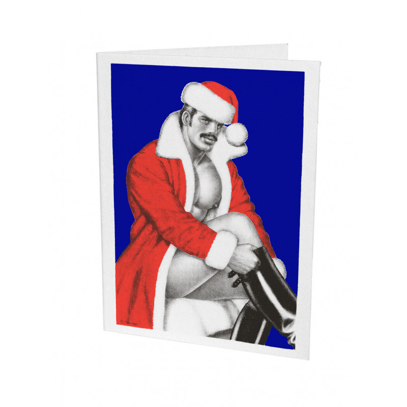 Tom of Finland Letterpress Greeting Card Christmas 18