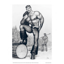 Tom of Finland Poster 24 x 30 cm Pose