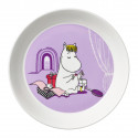 Moomin Plate 19 cm Snorkmaiden Lilac