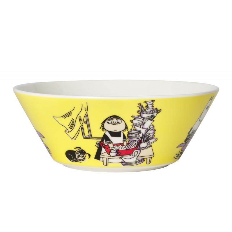 Moomin Bowl 15 cm Misabel Yellow