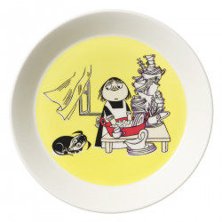 Moomin Plate 19 cm Misabel Yellow