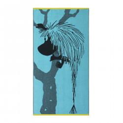 Moomin Bath Towel Ancestor Turquoise 70 x 140 cm