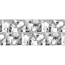 Moomin Cotton Fabric Comics Moominpappa Finlayson 100 x 150 cm