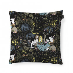 Moomin Cushion Cover Stars Black Multicolor 48 x 48 cm