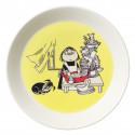 Moomin Plate 19 cm Misabel Yellow